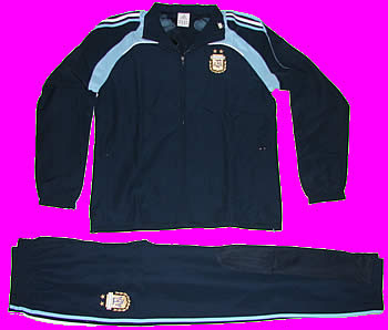 dad81aaea Argentina Presentation Suit 2008 - ArgentineSoccer.com Online Store